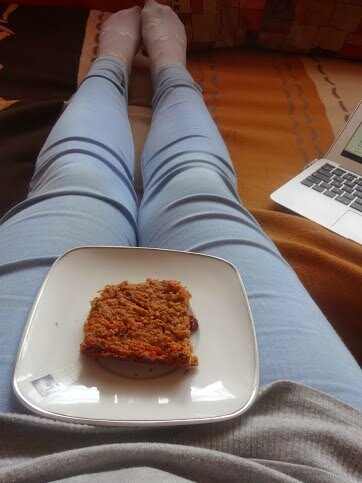 Marchewkowe owsiane ciasto